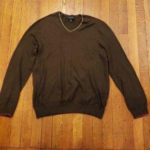 Banana Republic Silk blend V-neck sweater